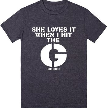 Hit The G | T-Shirt | SKREENED