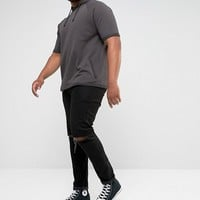ASOS PLUS Short Sleeve Hoodie at asos.com