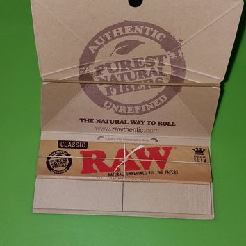 Raw classic artesano tray-papers-tips