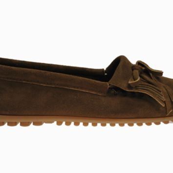® Kilty Suede Moc Hardsole - Dusty Brown