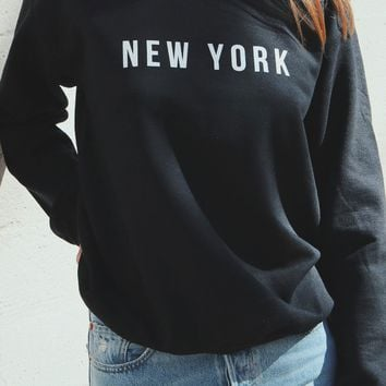 New York Oversized Sweatshirt