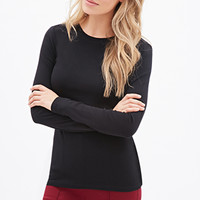 FOREVER 21 PLUS Classic Knit Tee