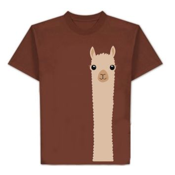 t-shirt: Alpaca Watching