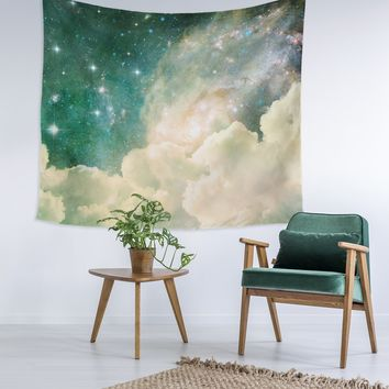 Cloud In Space Wall Tapestry
