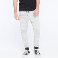 Elwood Marled Terry Mens Jogger Pants Grey  In Sizes