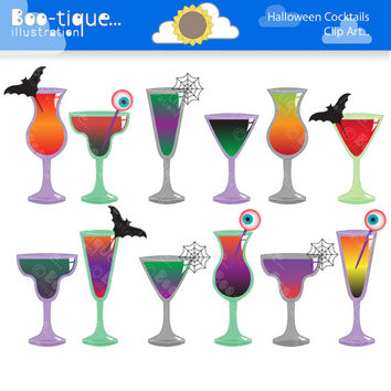 Halloween Cocktails Clipart. Halloween Cocktails Clip Art. Halloween Clipart. Halloween Clip Art. Halloween Digtial. Halloween Download.