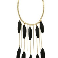 Tight as a Feather Necklace
