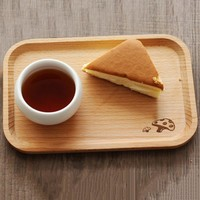 Various Pattern Storage Tray Wooden Pallet Tea Tray Saucer Sushi Dishes Fruit Tableware Food Snacks Rack Holder