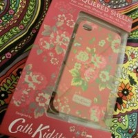 Koolshop Cath Kidston iPhone 4 4g 4th generation Back Case Boxset - Spray Flowers