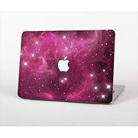 The Glowing Pink Nebula Skin Set for the Apple MacBook Air 13""