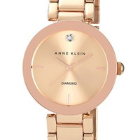 Women's Anne Klein Mirror Bezel Bracelet Watch, 32mm
