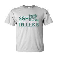 Grey's Anatomy SGH Seattle Grace Hospital Intern - Ultra-Cotton T-Shirt