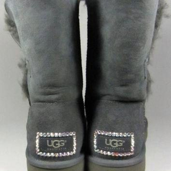 ICIK8X2 UGG Boots With Luxe Swarovski Crystal Elegant Accents - Winter/Holiday 2013