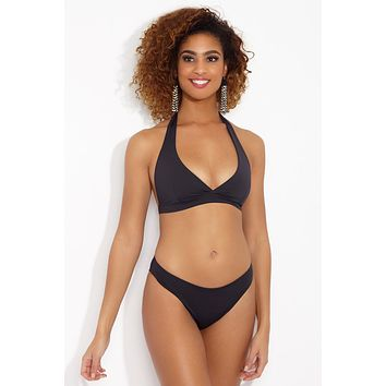 Neck Holder Reversible Bikini Top