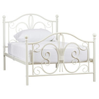 August Grove Bonnie Twin Metal Panel Bed