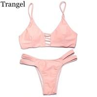 New arrival Pink sexy bikini women swimwear bikini bikini set bathing suit plus size swimming wear