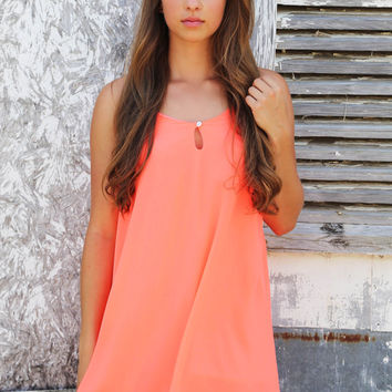 Coral Fever Dress