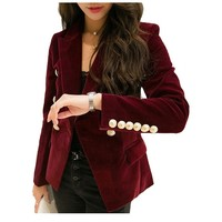Women Slim Long Sleeve Blazers