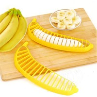 Banana Slicer Practical Convenience Fruit Cucumber Cutter Home Kitchen Gadgets