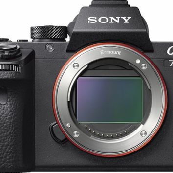 Sony - Alpha a7S II Full-Frame Mirrorless Camera (Body Only) - Black