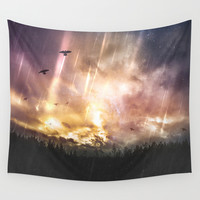 The stars where wrong Wall Tapestry by HappyMelvin
