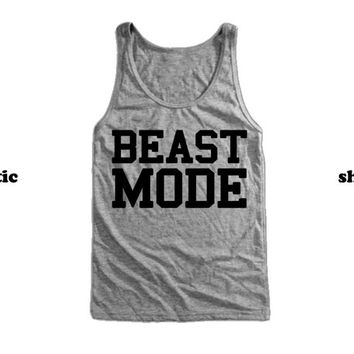 Beast Mode Tank Top | Fitness Tank | Workout Clothing