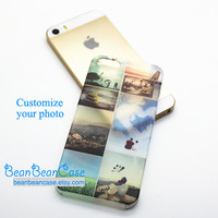 Custom Personalized Photo Custom cover case for iPhone 4/4s, iPhone 5/5S, iPhone 5c, Samsung galaxy Note 3, semi-transparent matte slim case