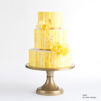Gold Wedding Cake Stand