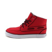 Mens Lander Chukka Casual Shoe by Polo Ralph Lauren, Red | Journeys Shoes