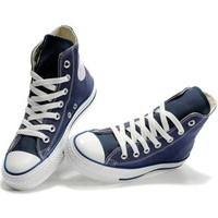 DCCKHD9 Navy Blue 'Converse' Fashion Canvas Flats Sneakers Sport Shoes