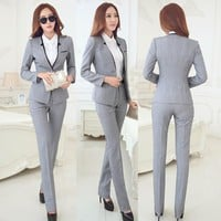Business Women Suits Jackets And Pants