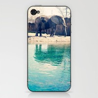Elephant iPhone & iPod Skin by Kate Perry | Society6