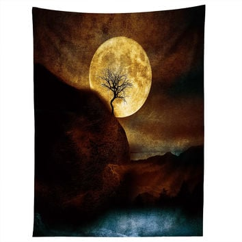 Viviana Gonzalez The Moon and the Tree Tapestry