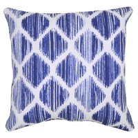 "18"" Throw Pillow - Brushed Diamond Blue - Threshold™"