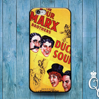 iPhone 4 4s 5 5s 5c 6 6s plus + iPod Touch 4th 5th 6th Generation Cute Funny Famous Movie Cool Marx Brothers Duck Soup Fun Phone Cover Case