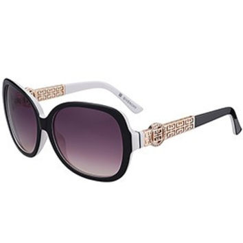 Givenchy Square Diamond Logo White Sunglasses 307829