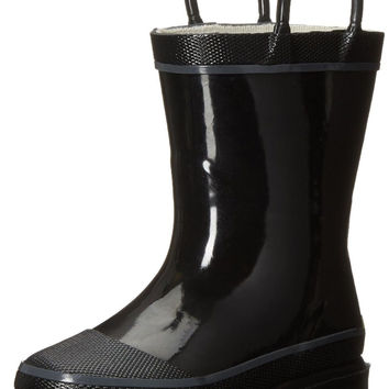 Western Chief Firechief 2 Rain Pull-On Boot (Toddler/Little Kid/Big Kid) Black