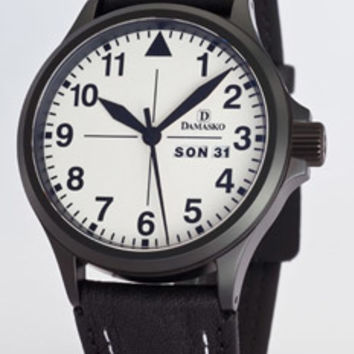 Damasko DA37 Black Automatic Watch