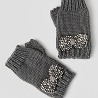 Monette Beaded Bow Gloves