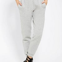 Sparkle & Fade Quilted Sweatpant