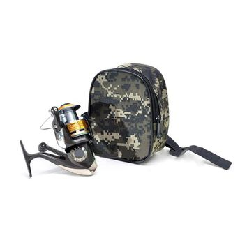 New Portable Fishing Reel MINI Bag Pocket Fishing Tackle Pouch Outdoors Sports Bag Fishing Reel Waist Bag