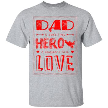 Dad Hero Daughter Love Men's T-Shirt