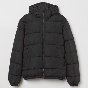 Padded Jacket - Black - Men | H&M US