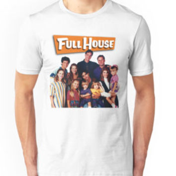 'Full House' T-Shirt by fireandtheflood