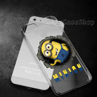Minions 2 for iphone 4 case, iphone 5 case, samsung s3 case, samsung s4 case cover in clearcaseshop