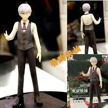 Tokyo Ghoul Kaneki Ken PVC Action Figure Anime Cartoon Gift Toy 8""
