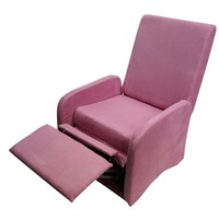 The College Recliner - Baby Pink Soft Dorm Seating