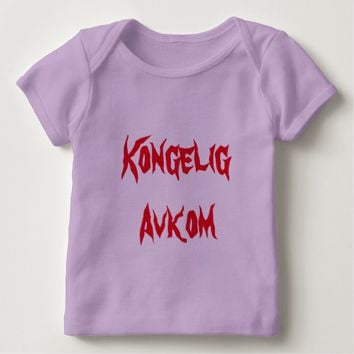 Kongelig Avkom, Royal Offspring in Norwegian Baby T-Shirt