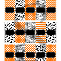 Halloween Candy Bar Wrappers - Fits Hershey's Miniatures - INSTANT DOWNLOAD!! - Halloween Party Supplies