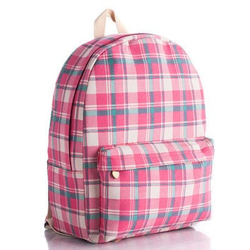 Canvas Lovely Korean Cute Backpack = 4888036164